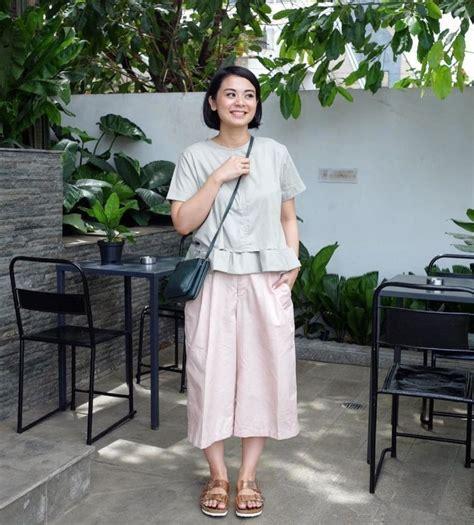 Celana Pendek Kekinian Hangout Jalan Santai 12 mix and match celana kulot yang lagi hits biar penilanmu makin kece dan kekinian