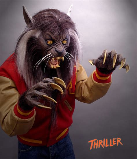 Lifesize Michael Jackson's Thriller Werewolf   The Green Head