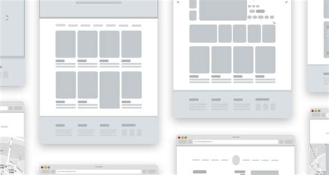 50 Free Wireframe Templates For Mobile Web And Ux Design Sketch Website Template Free