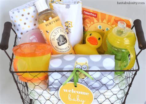 Handmade Baby Gift Baskets - new baby gift basket fantabulosity