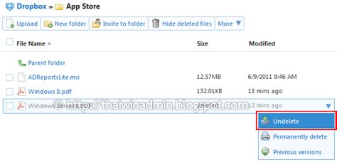 dropbox deleted files how to recover deleted files in dropbox windows