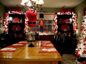 christmas kitchen decoration ideas curtains tablecloth