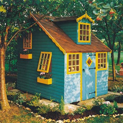 shire cottage wooden playhouse 8 x 6 two storey 163