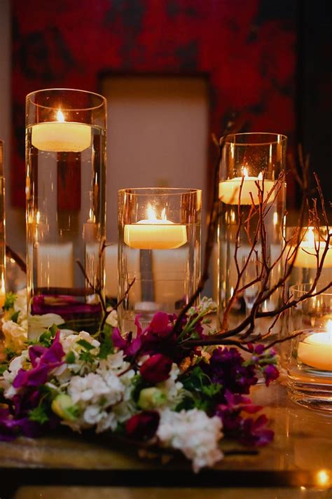 Clear Vase Centerpiece Ideas by Floating Candles Centerpiece Wedloft Candles