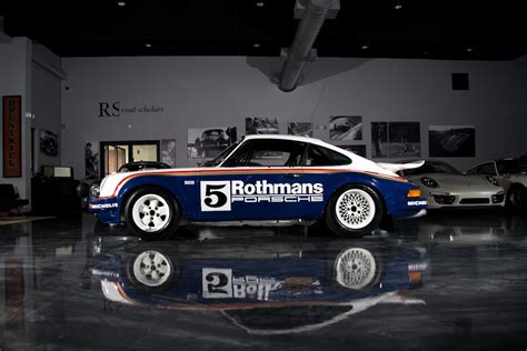 porsche rothmans 1984 porsche 911 scrs rothmans unrestored sold road