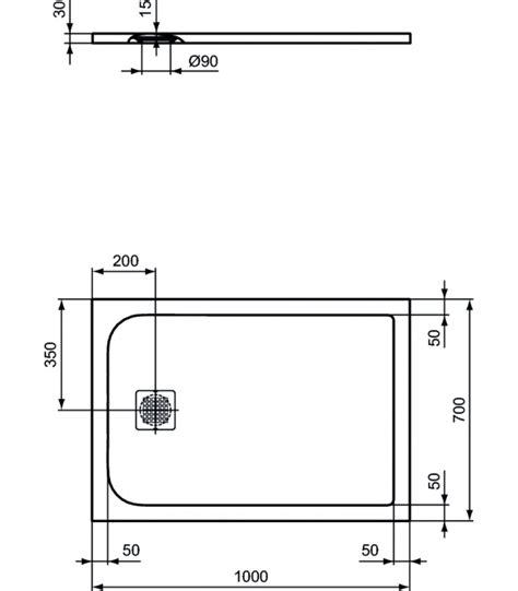 piatto doccia ideal standard piatto doccia 100x70 bianco ideal standard ultraflat s
