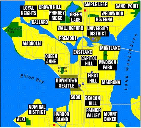 seattle map fremont fremont metro map toursmaps