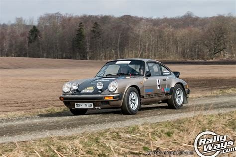 porsche 911 rally south swedish rally car photo action rallyways