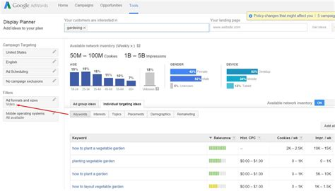 Online House Planner youtube keyword tool sunsets replaced by adwords display