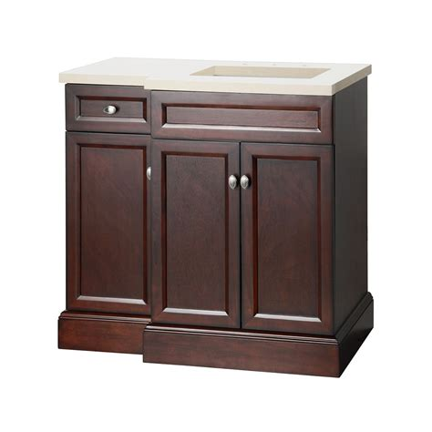 Home Depot Bathroom Vanities 36 Inch by Foremost International Teagen 36 Inch W Vanity Combo In