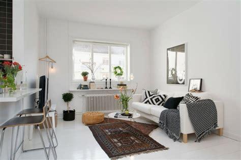 Apartment Einrichtung by Trendy Apartment In Stockholm Schwarz Wei 223 E Einrichtung