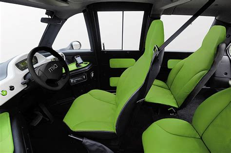meet the small three seater electric car the