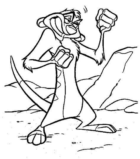 timon and pumba coloring pages az coloring pages