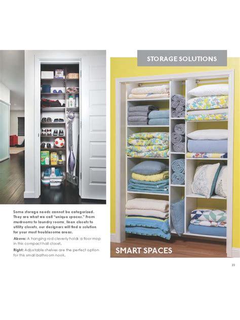 Closet Catalog by Household Storage Solutions Inc Catalog
