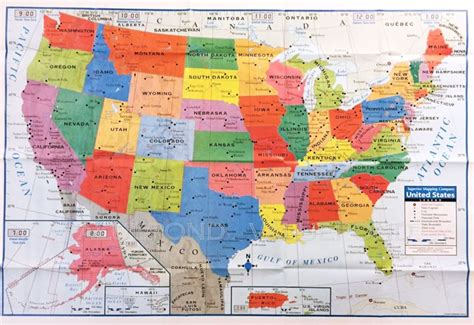 map usa poster usa us map poster size wall decoration large map of united