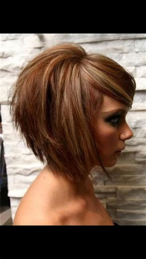 hair cuts with height at crown best 25 stacked angled bob ideas on pinterest longer
