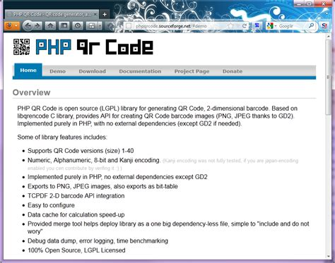php qr code tutorial bookmark php qr code qoding style