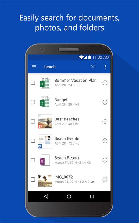 onedrive apk microsoft onedrive apk android productivity apps
