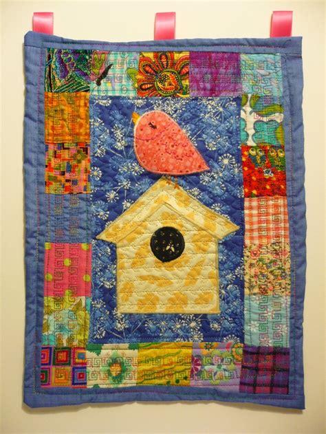Birdhouse Quilt by Mini Bird House Quilt Mini Quilts