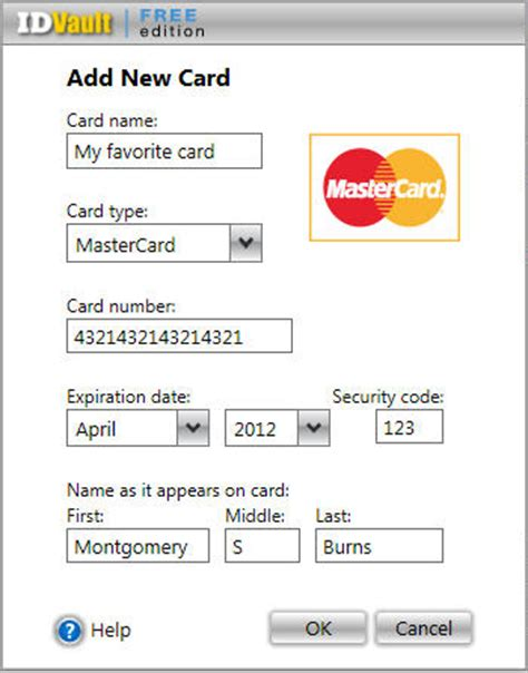 Sle Credit Card Number With Expiration Date credit card numbers that work with security code and
