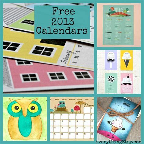 25 free printable calendars 25 free 2013 printable calendars