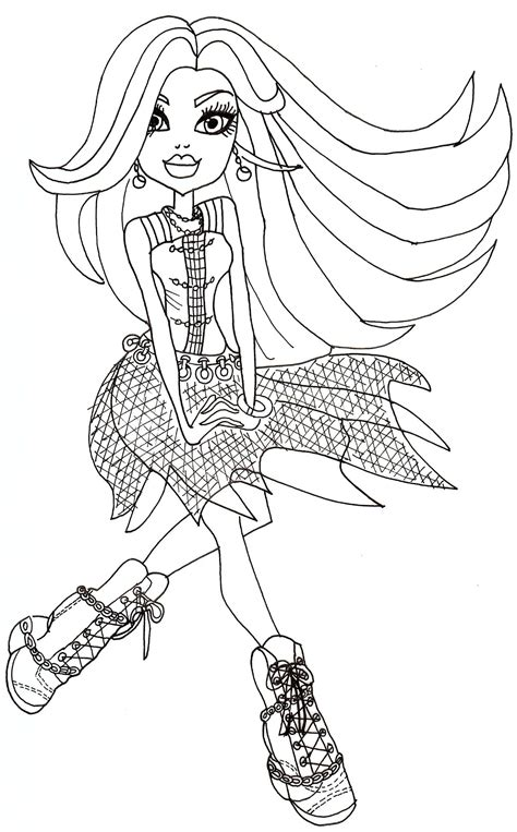 monster high haunted twyla coloring pages disney world haunted mansion coloring pages sketch