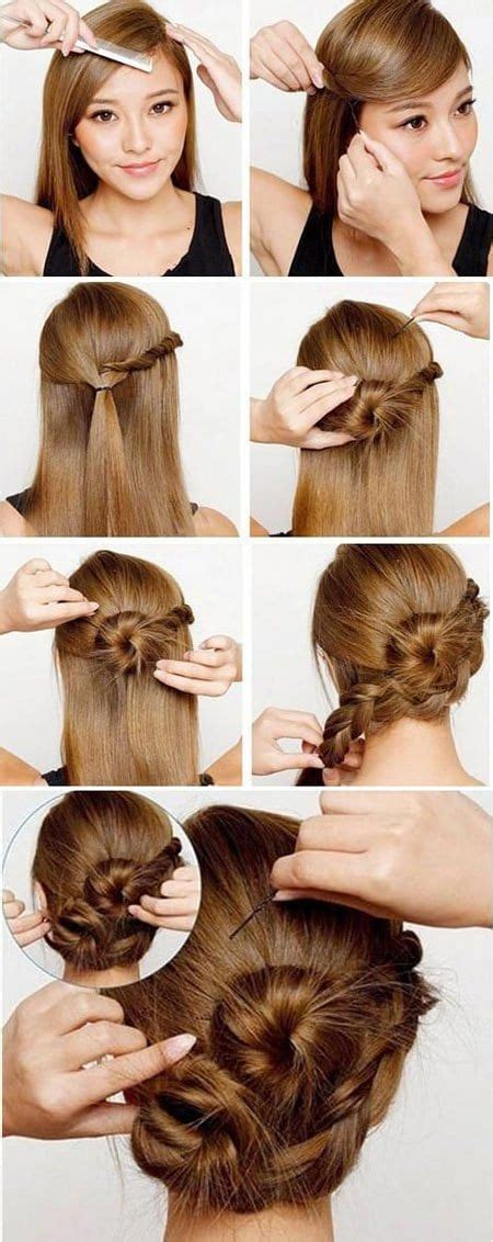 8 Tips On Choosing The Best Hairstyle by 15 Lazy Hairstyle Tips And Tricks That Can Be Done