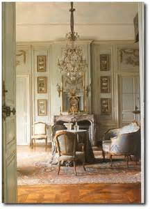 french interiors decorating with celadon