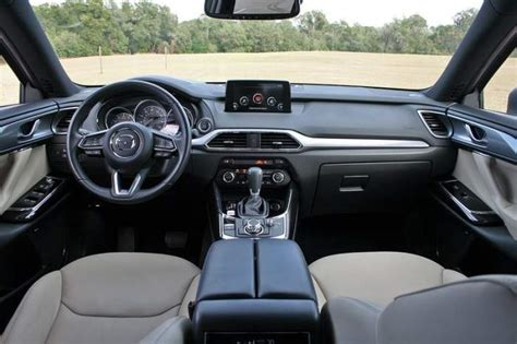 mazda cx9 interior mazda cx 9 2018 changes release date review 2019