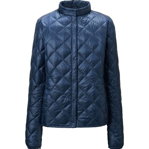 ultra light down coat uniqlo ultra light down compact quilted jacket in blue