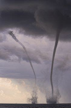 Waterspout With Lightning by Lake Michigan Plagued By And Weather Waterspouts