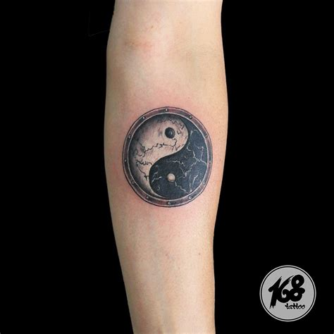 yin yang tattoo for men yin yang find the balance in