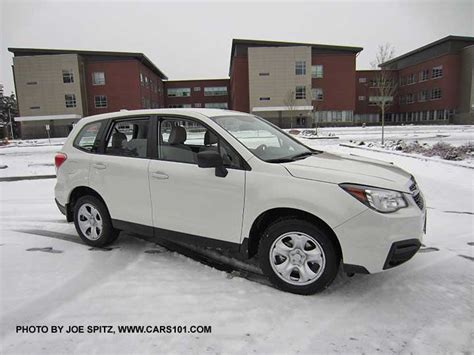 subaru forester 2017 white 2017 subaru forester exterior photo page 1
