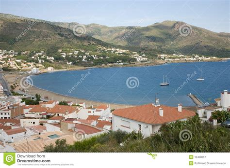 la selva harbor el port de la selva in spain royalty free stock photo cartoondealer com 91255683