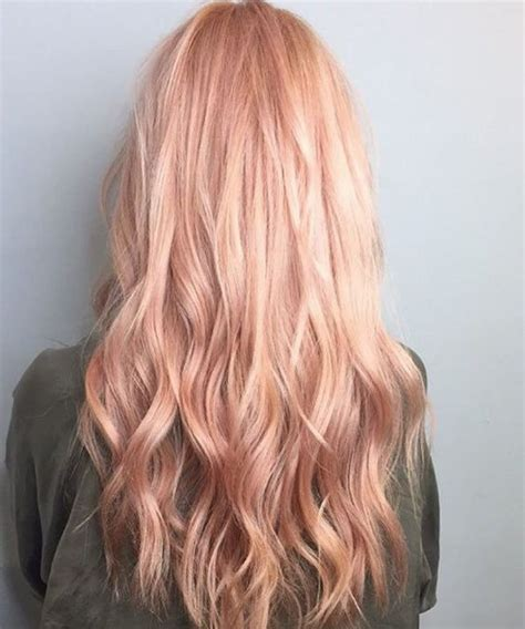 rose gold hair dye 40 trendy rose gold hair color ideas gold hair colors