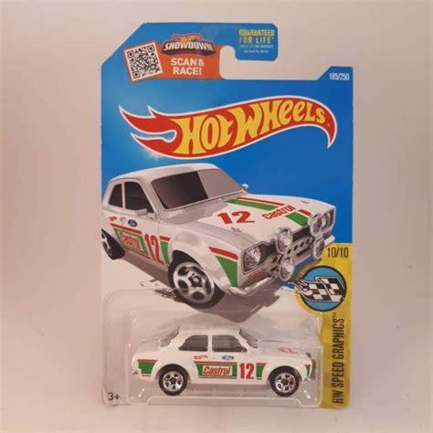 Hotwheels 70 Ford Rs1600 hotwheels white 70 ford rs1600 wheels diecast