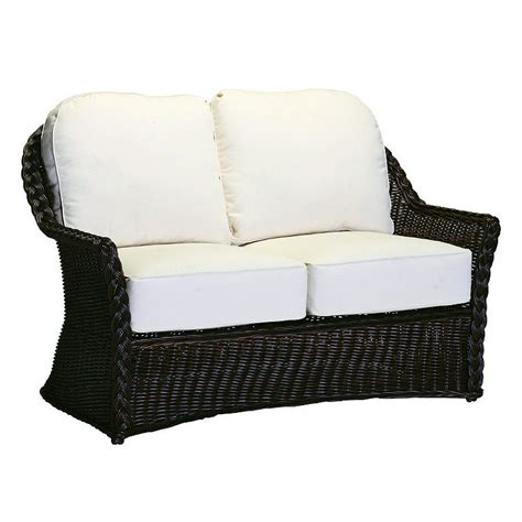 resin loveseat resin wicker loveseat frontgate