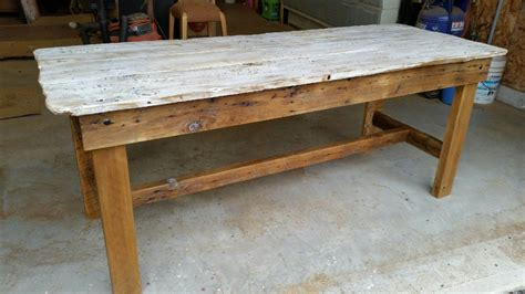 rustic white dining table rustic white wash barn door dining table m jones creations