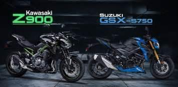 Kawasaki Vs Suzuki Kawasaki Z900 Vs Suzuki Gsx S750 Lovelymotor