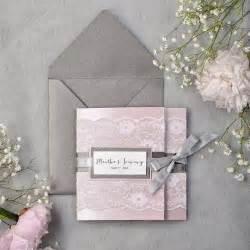 Amazing Etsy Wedding Invitations #2: Custom-listing-80-dark-grey-and-pink-lace-wedding-invitation-express-order-pocket-fold-wedding-invitations-pink-wedding-invitation-new.jpg
