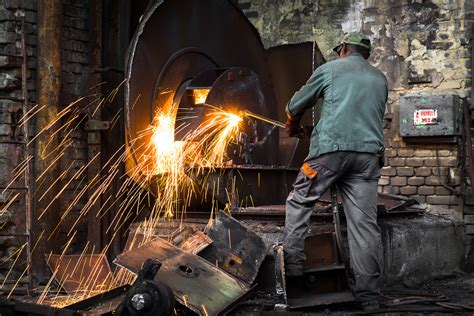 steel mill workers stock photos steel mill workers stock images alamy experts urge to adapt their skills as traditional dominated industries disappear