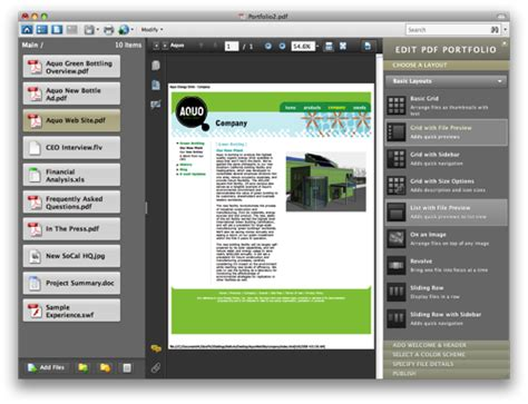 layout adobe acrobat portfolio the same page that s a pdf whoa new and updated pdf