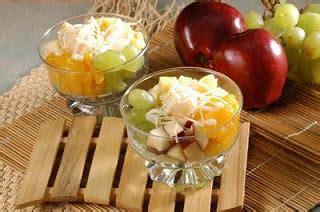 cara membuat salad buah keju resep salad buah spesial keju caffe coffee