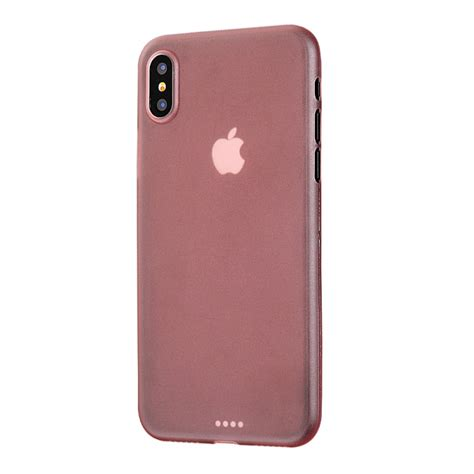 iphone xs 0 3mm ultra thin plastic back cover gold