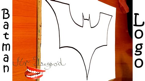Cool And Easy Things To Draw On Paper Step By Step by How To Draw Batman Logo Step By Step Easy Draw Easy Stuff
