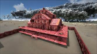 Ark House Designs build your own house made of meat with this ark survival evolved mod