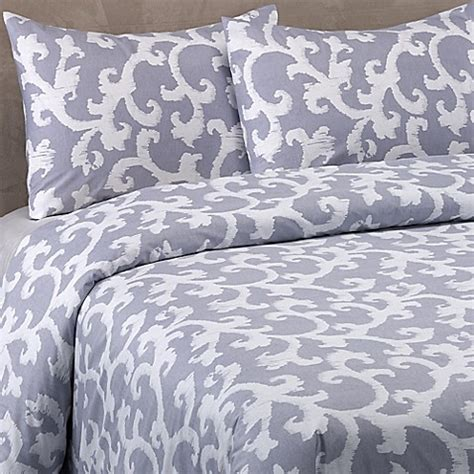 vera wang scrolls comforter set in blue purple bed bath