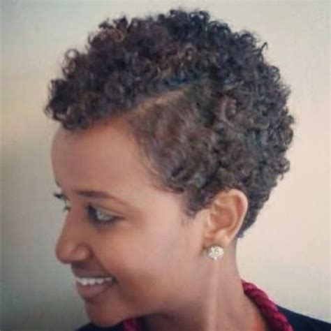 my hair is thinning on the sides afro american cayute twa with side part via relaxed natural facebook