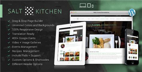 wordpress restaurant tutorial 25 responsive food recipe wordpress themes tutorial zone