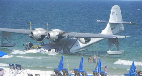 wwii pby catalina destroyed during movie filming - Flying Boat The Movie
